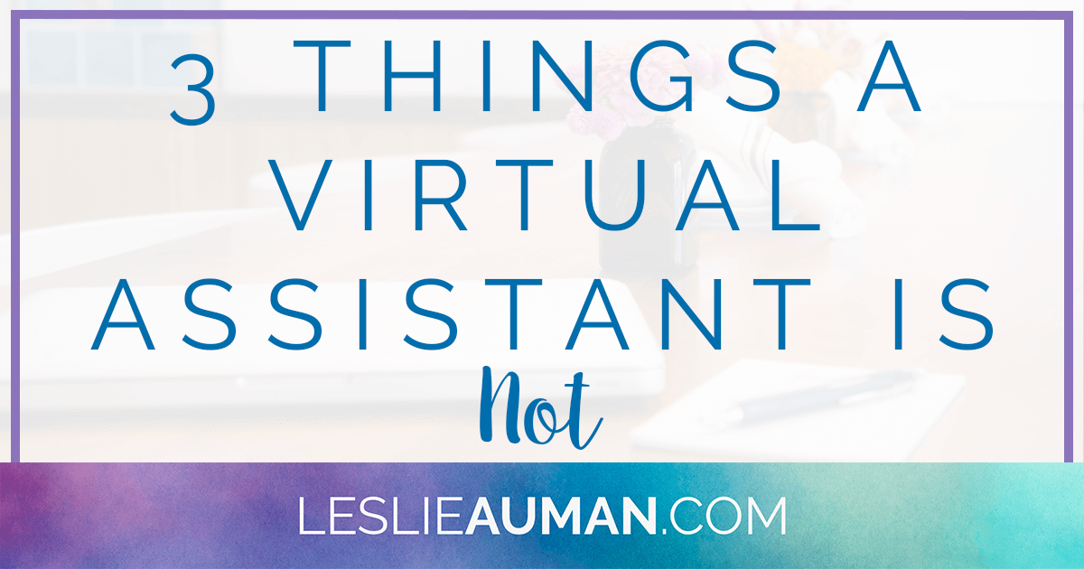Virtual Assistant | Virtual Assistance | Virtual Assisting | A virtual assistant can do many things, but there are some things that a virtual assistant is not. Click through to read about some things that a VA isn't in order to better understand and work with your VA.