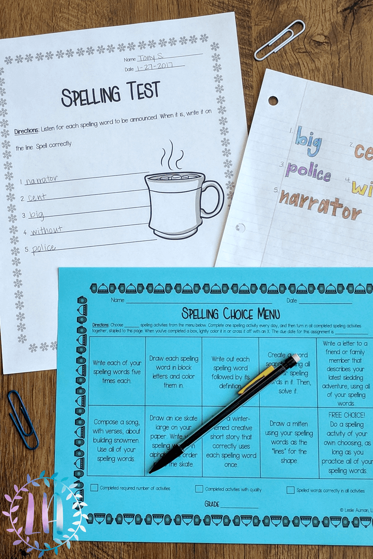 Spelling Practice | Spelling Homework | Spelling | Let me help you make spelling fun for your students again! In this blog post, I write all about how I had to teach spelling in my first year of teaching and then the idea I came up with to make spelling fun for kids. Spelling homework doesn't have to be boring! Click through to read the full post.
